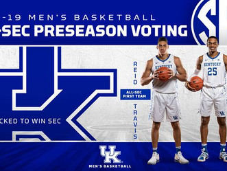 UK picked to win the SEC in preseason voting