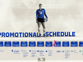 Volleyball Single Match tickets and Promo Schedule Released