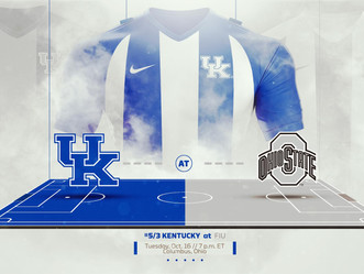 UK mens soccer takes on Ohio State, Tuesday 10/16 @ 7pm