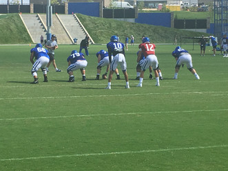 Last Practice of Fall Camp - QB1 is.....