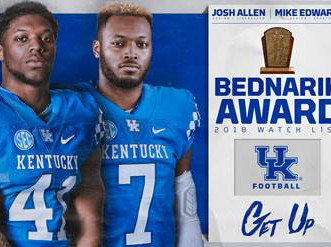 Two named to the Bednarik watch list