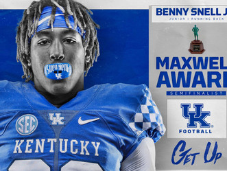 Benny Snell Jr. a semifinalist for the Maxwell