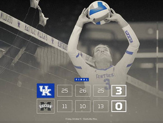 UK Volleyball wins again...7 in a row