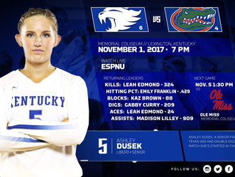 Kentucky Volleyball Game Day!