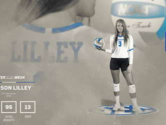 What a week for Volleyball & Lilley