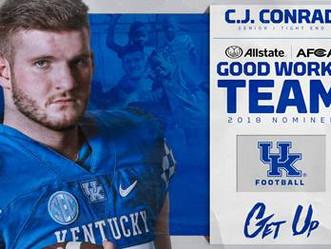 CJ Conrad - All State Good Hands Nomination