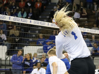 Florida takes UK in 3 straight sets