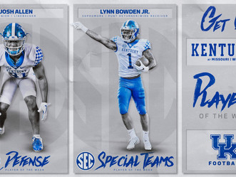 Bowden Jr. and Allen named SEC Players of the Week