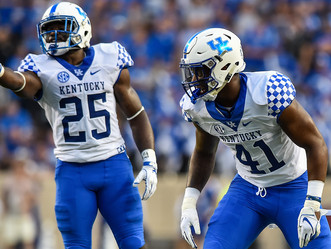 Four UK Football players named mid-season All-Americans