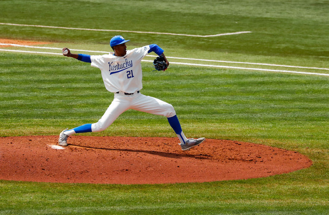 Justin Lewis is SEC Pitcher of the Week