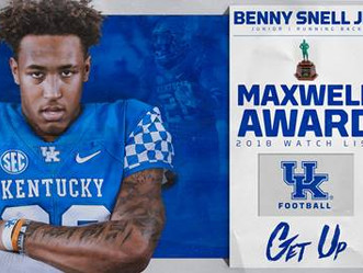 Benny Snell - Watch List for the Maxwell Award