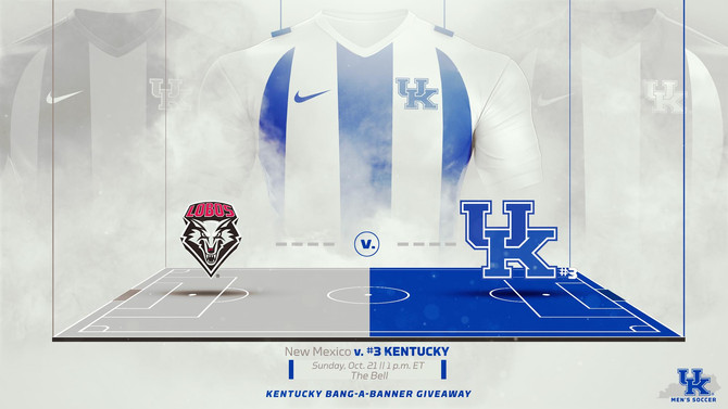 No. 3 UK Mens Soccer to face the Lobos on Sunday