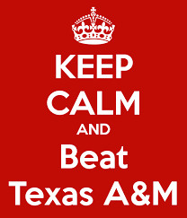 Get Ready Aggie Nation, The Big Blue Nation is coming!
