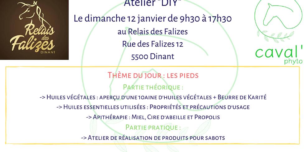 """Atelier """"DIY"""" - Thème : Les pieds - Dinant"""