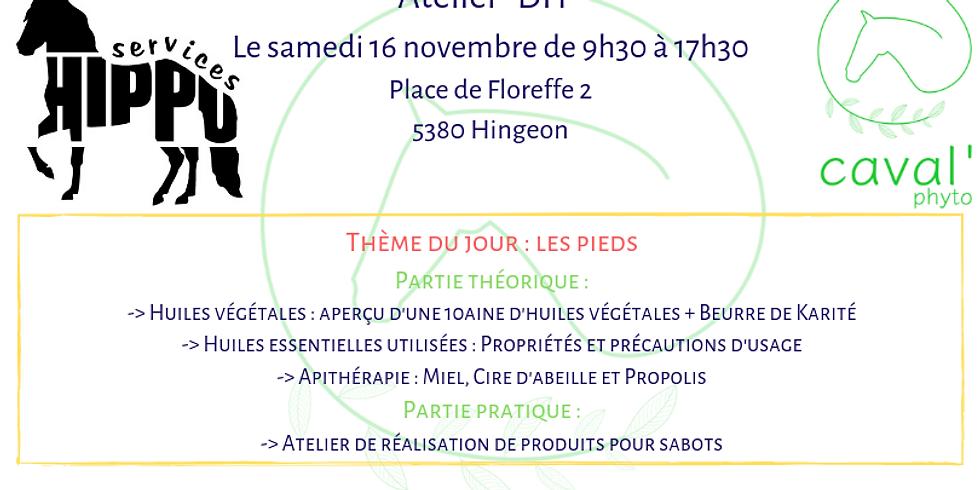"""Atelier """"DIY"""" - Thème : Les pieds - Hingeon"""