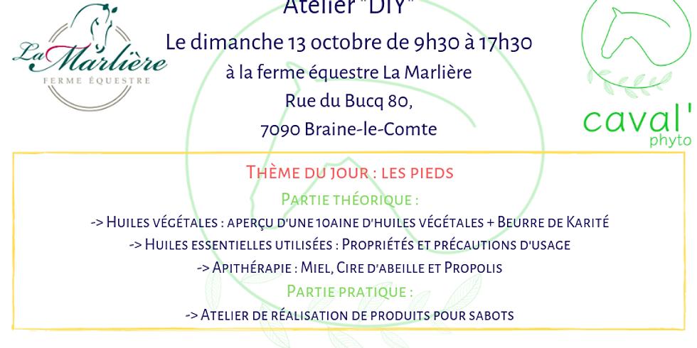 """Atelier """"DIY"""" - Thème : Les pieds - Braine-le-Comte"""