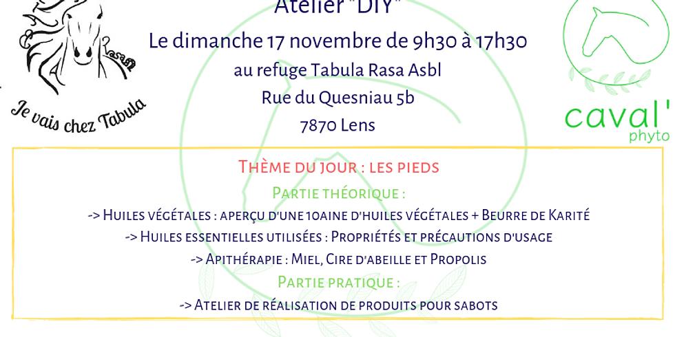 """Atelier """"DIY"""" - Thème : Les pieds - Lens"""