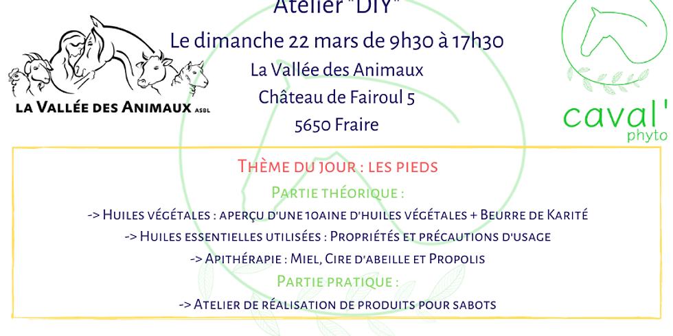 """Atelier """"DIY"""" - Thème : Les pieds - Fraire"""