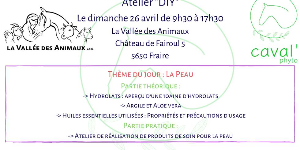 """Atelier """"DIY"""" - Thème : La peau - Fraire"""