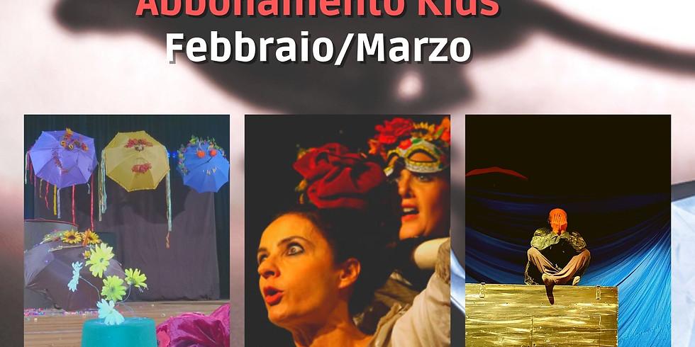 Abbonamento KIDS Febbraio/Marzo - Eventi On Line