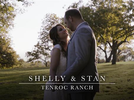 Shelly & Stan - Beautiful Wedding Filmed at Tenroc Ranch in Salado, Texas