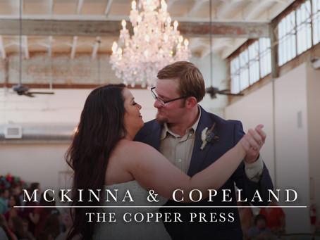 McKinna and Copeland - Heartfelt Wedding Film in Colorado City, Texas