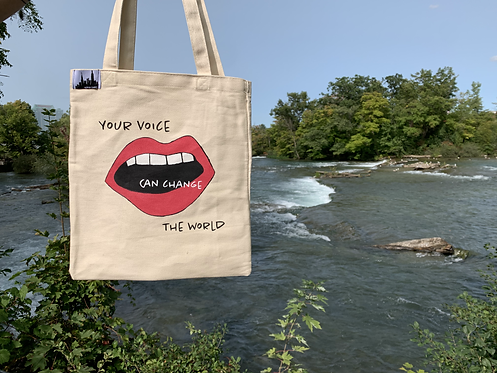 Tote Bag - Your Voice Can Change The World