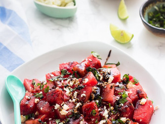 Water(melon salad) you eating?