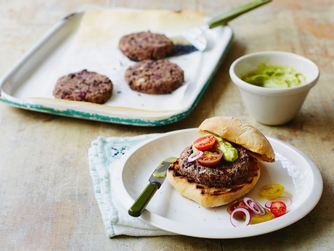 20-Minute Veggie Burgers