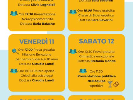 Giornata della psicologia - Open week-end al Germoglio!