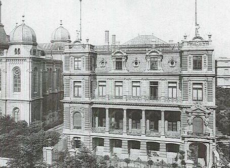 Przebudowa pałacu Jakuba Hertza na siedzibę Izby Przemysłowo-Handlowej w Łodzi