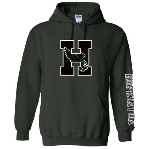 Green Hooded Sweatshirt (Adult & Youth)