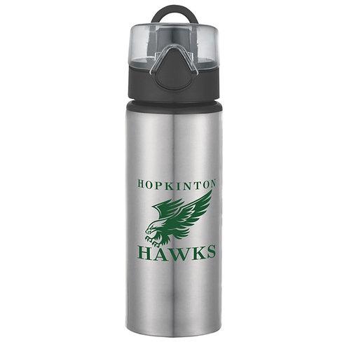25oz Stainless Steel Hawks Water Bottle