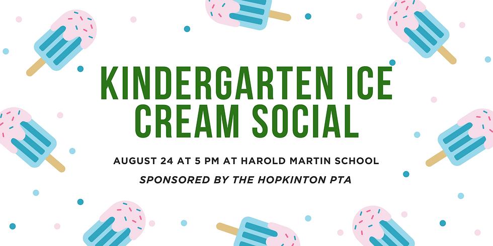 Kindergarten Ice Cream Social