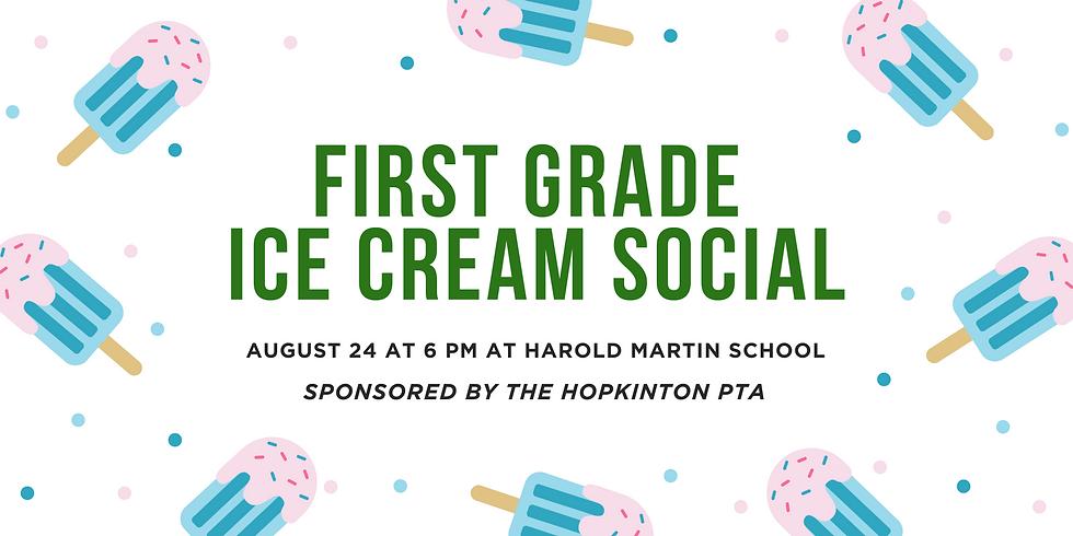 First Grade Ice Cream Social