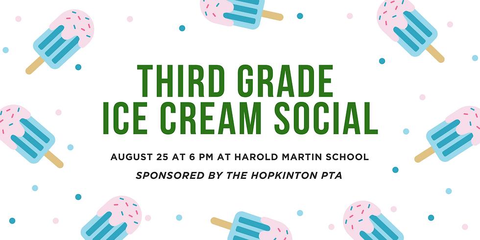 Third Grade Ice Cream Social
