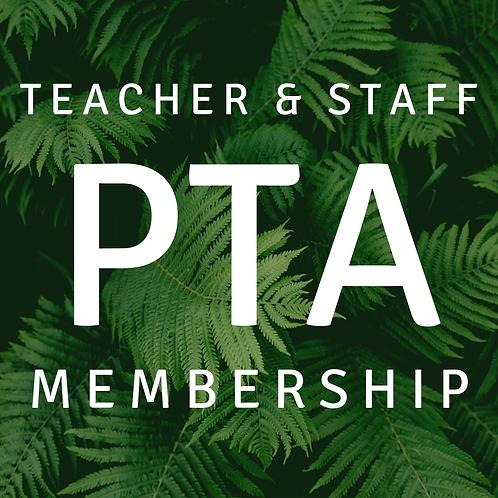 Teacher & Staff PTA Membership
