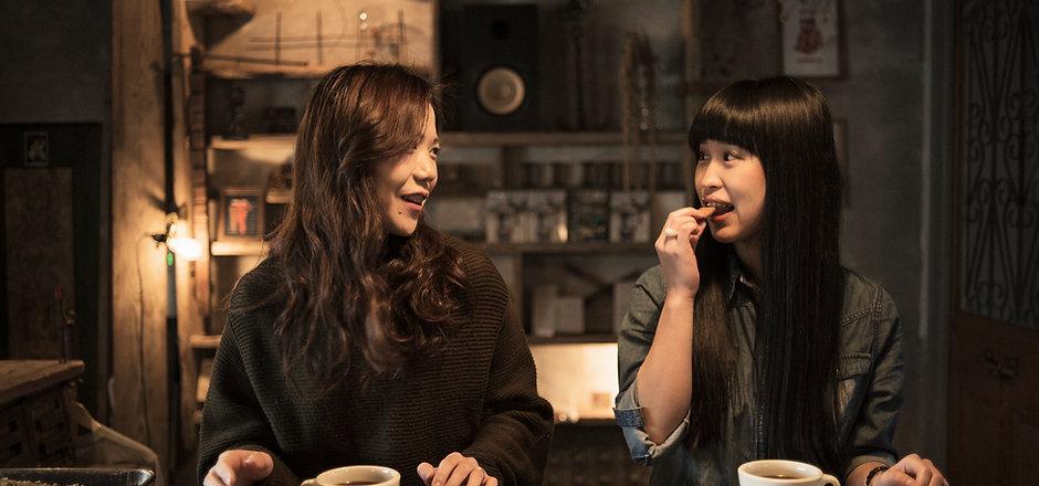 Japanese Girls Having Tea