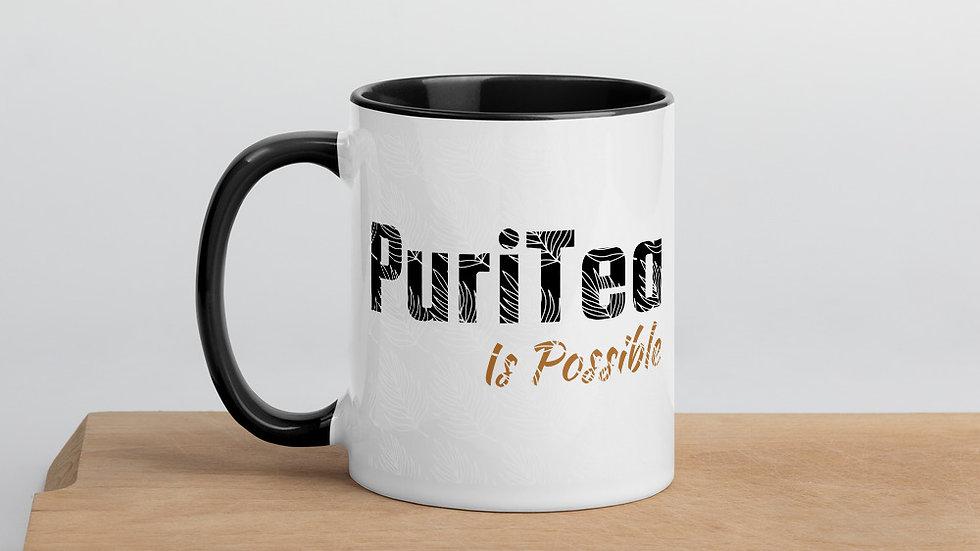 """PuriTea"" Mug with Color Inside"