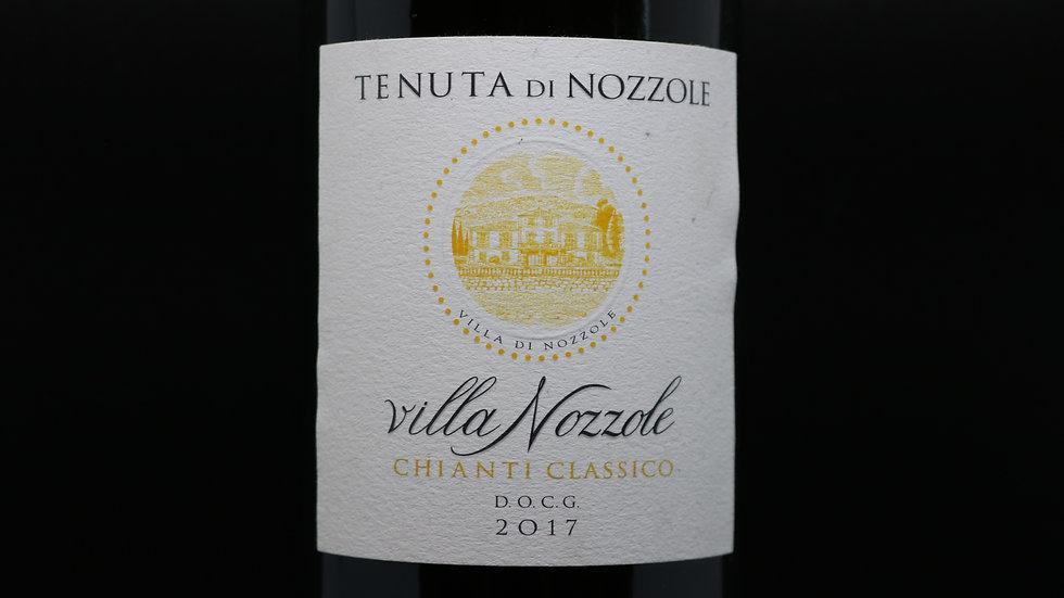 Tenuta di Nozzole, villa Nozzole Chianti Classico DOCG, Tuscany Italy, 2017