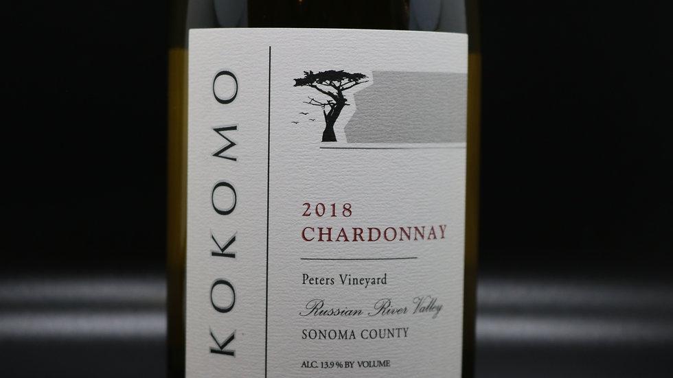 Kokomo, Peters Vineyard Chardonnay, Russian River Valley, 2018