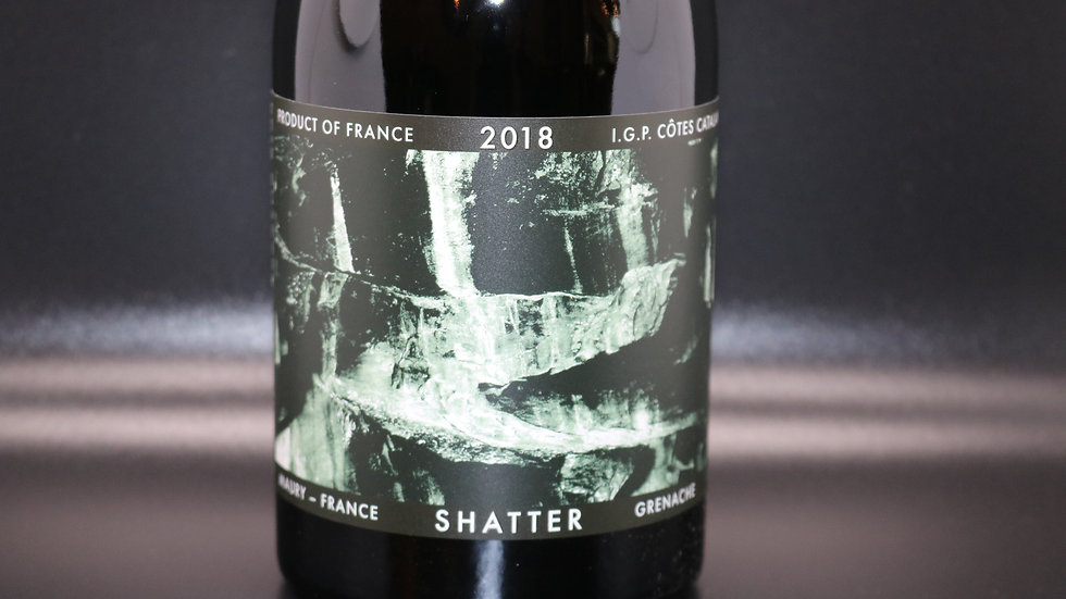 Shatter, Côtes Catalanes Grenache, Maury France, 2018