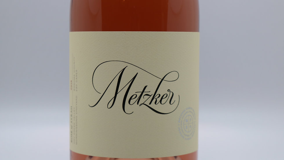 Metzker, Morning Song Vineyard Rosé of Syrah, Sonoma, 2018