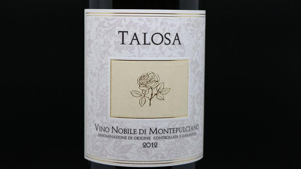 Fattoria della Talosa, Vino Nobile di Montepulciano, Tuscany Italy, 2012
