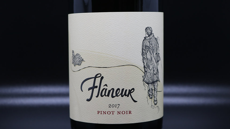 Flâneur, Pinot Noir, Willamette Valley OR, 2017
