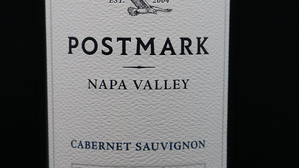 Postmark, Cabernet Sauvignon, Napa Valley, 2018