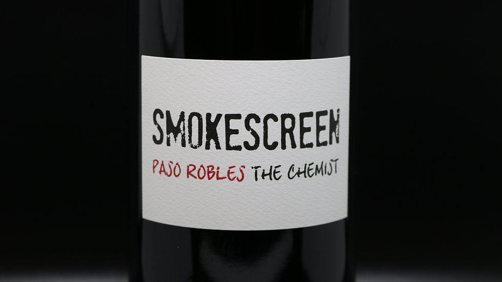 Smokescreen, The Chemist Red Blend, Paso Robles, 2017