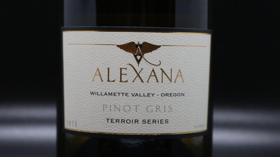 Alexana, Pinot Gris, Willamette Valley, 2016