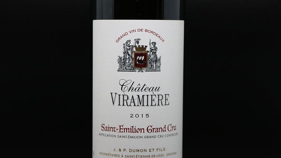 Château Viramiere, Saint-Emilion Grand Cru, Saint-Emilion France,2015