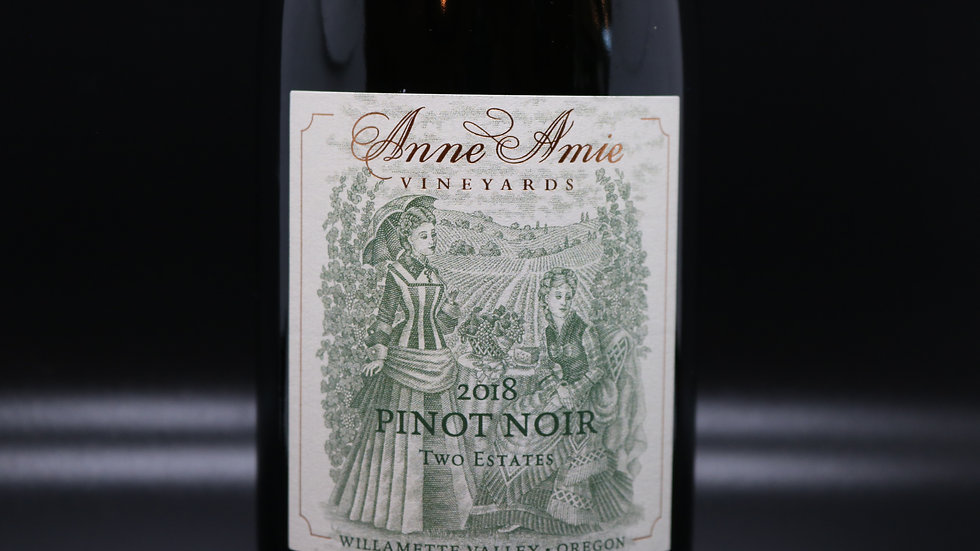 Ann Amie, Two Estates Pinot Noir, Willamette Valley OR, 2018